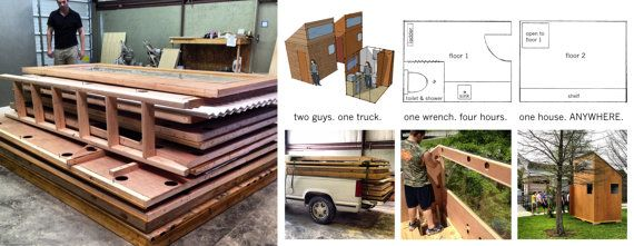 Flat Pack Home by RevivalSupplyCo on Etsy