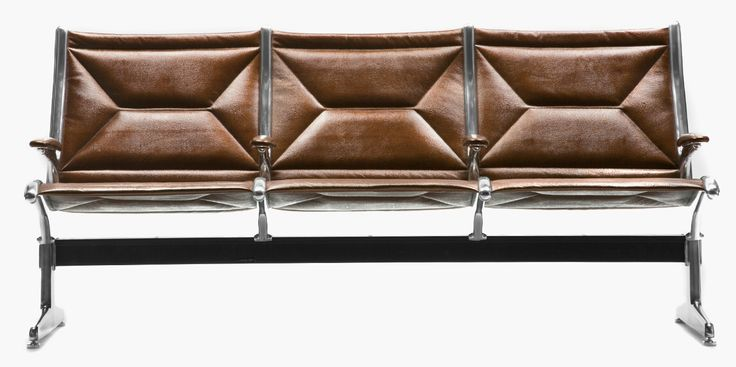 iconic eames airport chairs reupholstered in edelman 39 s world class luxury leather by. Black Bedroom Furniture Sets. Home Design Ideas