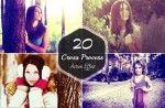 20 Cross Process Photoshop Action