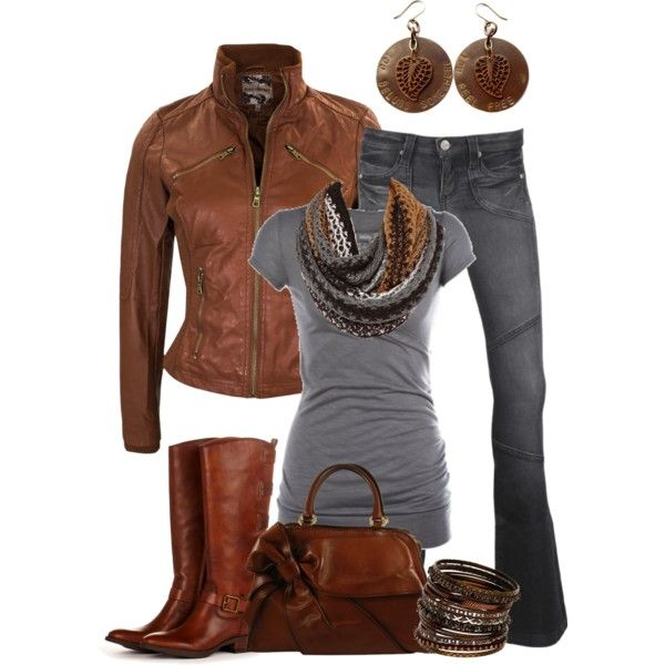 """""""Casual Comfort"""" by smores1165 on Polyvore. Not so crazy about the jacket but everything else is cute!:"""
