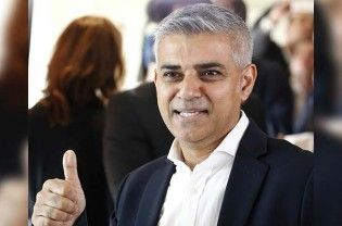 """London: Newly-elected London Mayor Sadiq Khan on Saturday gave an effusive thank you to supporters on Twitter after his emphatic win, as British Pakistanis erupted in joy at a fellow Pakistani-origin national winning the top post. Welcome messages also poured in from prominent Pakistanis as #SadiqKhan trended on twitter. Thanking supporters after his historic win, Khan tweeted: """"A huge thank...  Read More"""