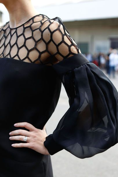 This is so begging for a treatment in chains... From Australia Fashion Week via Vogue Deutschland