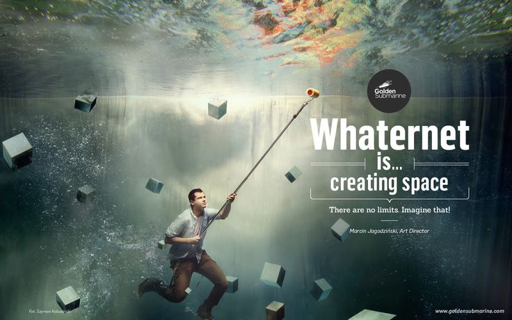 #whaternet is... #creating space. There are no limits. Imagine that!