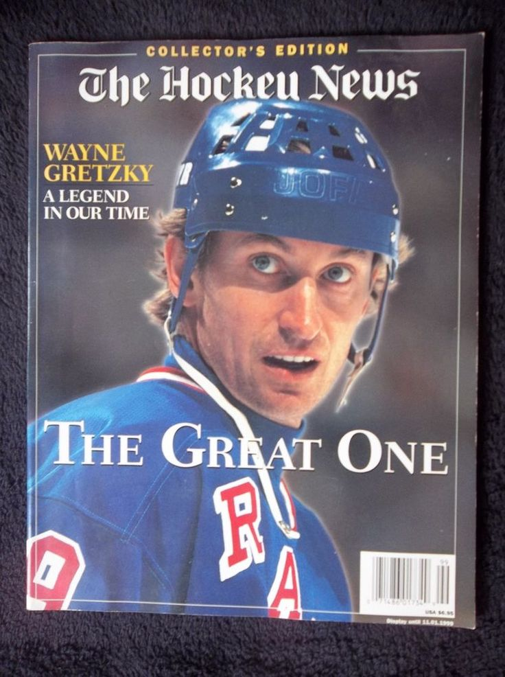 The Hockey News Collector's Edition Wayne Gretzky Retirement Issue April 1999