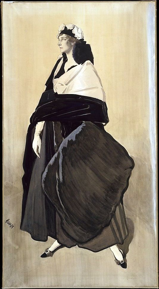 Bakst, Leon (1866-1924) - 1910c. Mme. Ida Rubinstein (Metropolitan Museum of Art, New York City).