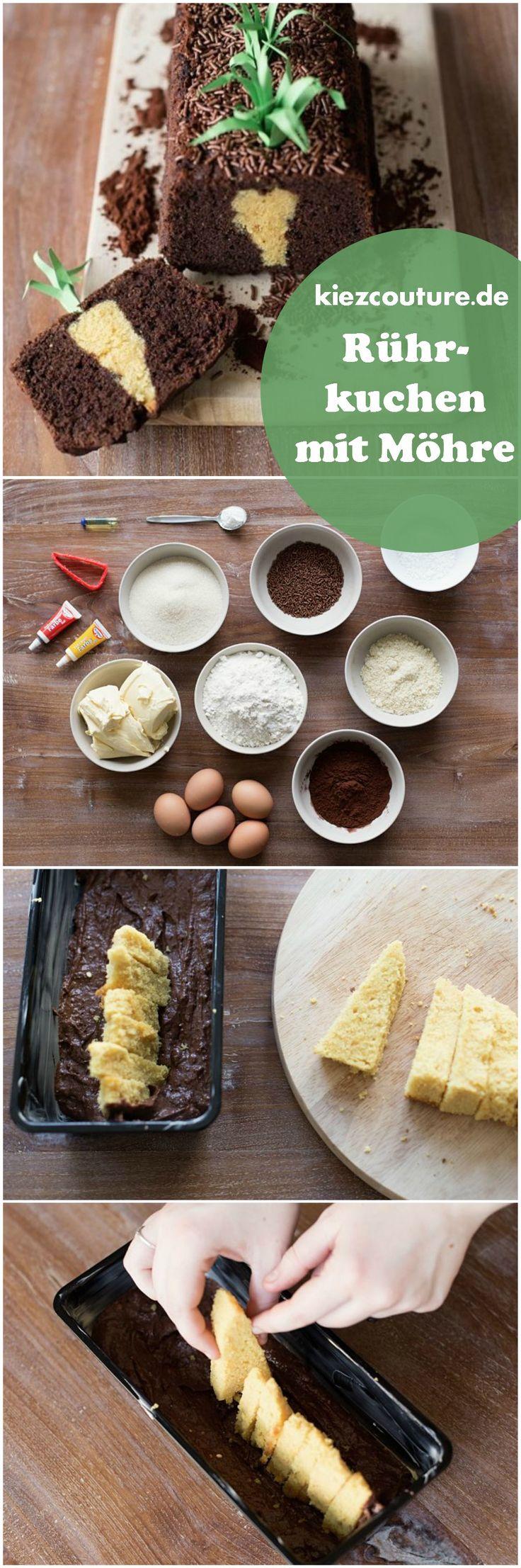 Rezept Rührkuchen mit Möhre via kiezcouture.de