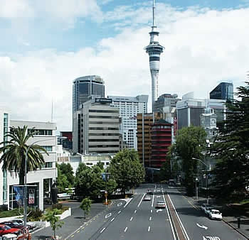 Auckland, New Zealand - It's a beautiful place.  Great ferry service to surrounding islands