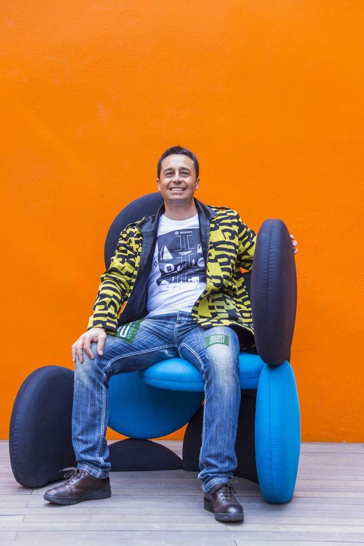 """#scaranidesigner             + Fashion D.Attilio Carota   + Letters by Kvadrat           = Project """"DesignOnSkin"""" Tessuti di arredo usati sulla Pelle"""