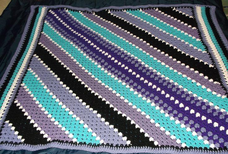 261 besten Crochet Afghans / Blankets Bilder auf Pinterest | Crochet ...