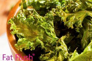 Kale Chips- Official Fat Flush Recipe