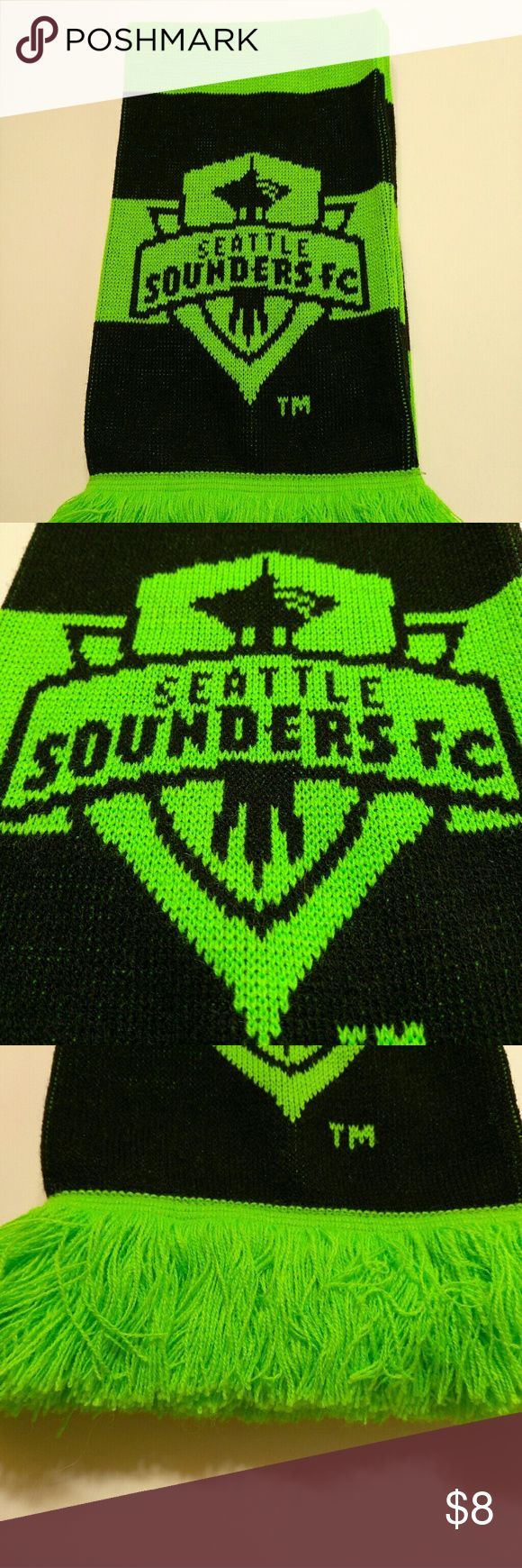 Seattle Sounders FC Scarf Seattle Sounders FC scarf in excellent used condition.  Show some team pride this winter or wear to a game! Accessories Scarves & Wraps