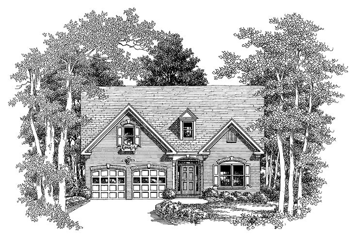 Eplans cottage house plan great curb appeal 1347 for Eplans cottage house plan