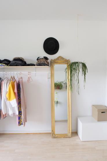 Spectacular Ein sch nes Beispiel f r einen top organisierten Kleiderschrank Kleiderstangen k nenn dir bei der Aufbewahrung helfen
