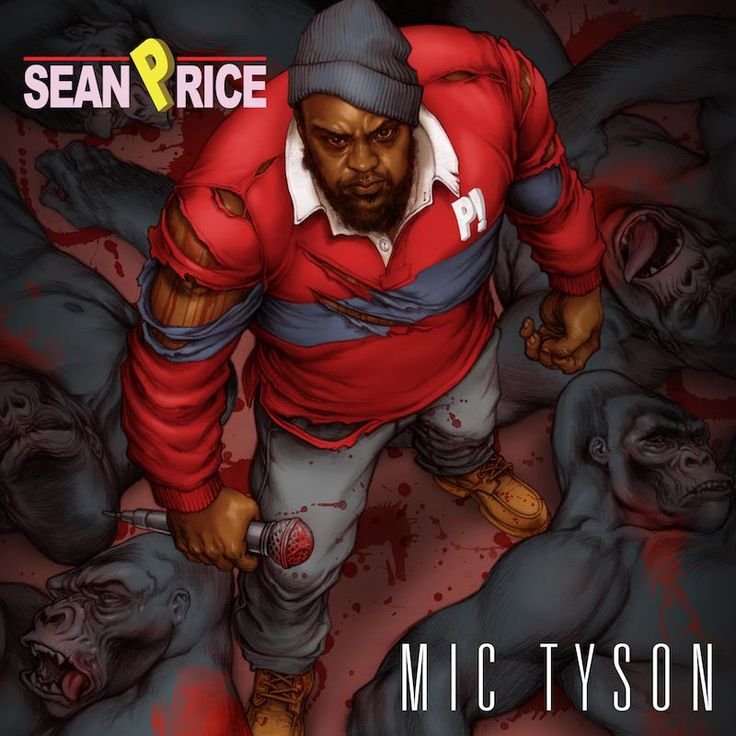 Sean Price 'Mic Tyson' album cover design