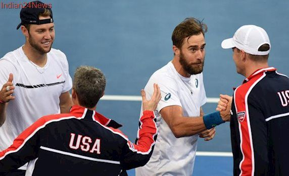 Jack Sock gamble keeps US alive in Davis Cup tie