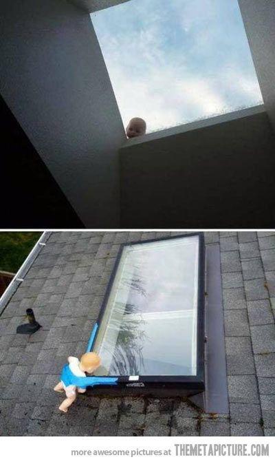 The ultimate creepy prank