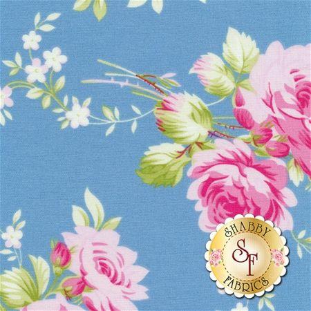 Sadie's Dance Card PWTW122-BLU by Tanya Whelan for Free Spirit Fabrics: Sadie's Dance Card is a beautiful collection by Tanya Whelan for Free Spirit Fabrics. Width: 43