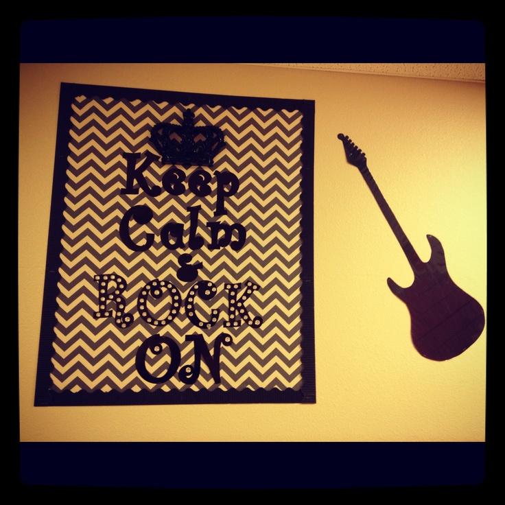 My music room bulletin board :)