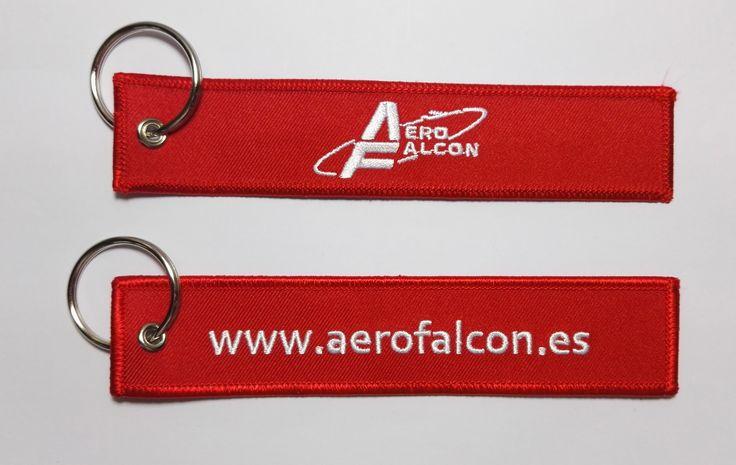 Llaveros Bordados Personalizado #aerofalcon