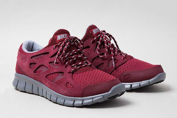 Nike free 2's look the best.  Nike Free Run+ 2 Suede Pack |