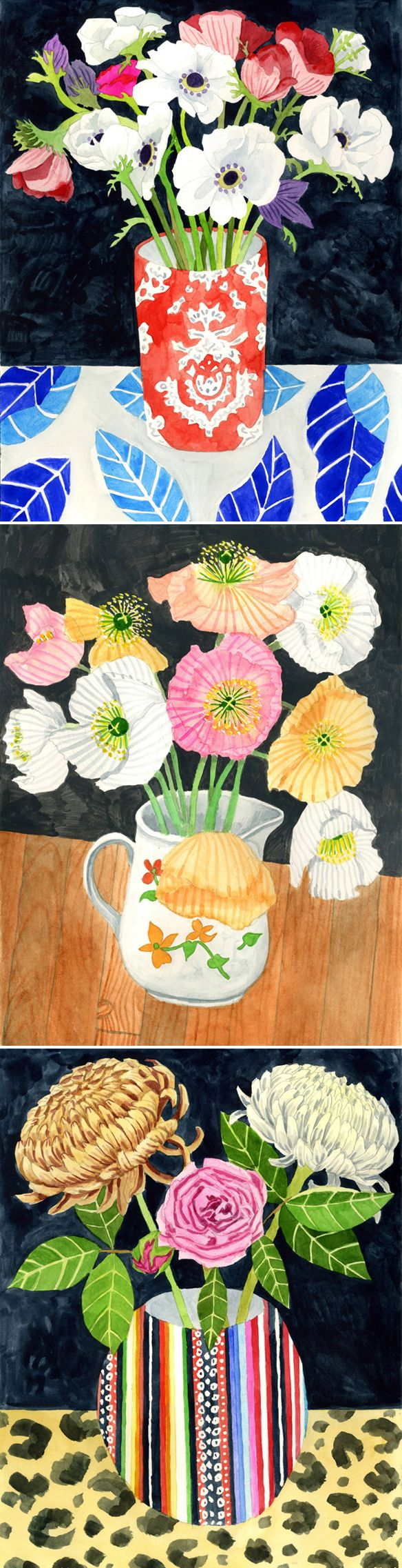 emily proud - watercolor