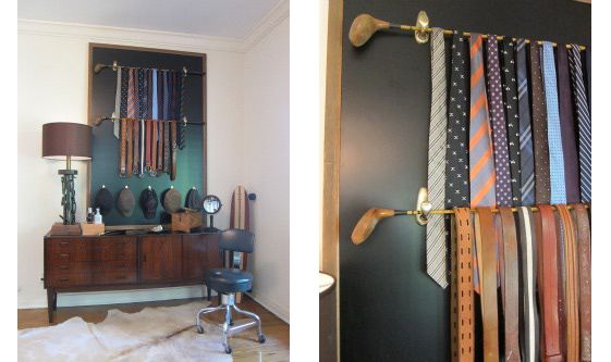 crafts to do with old golf clubs