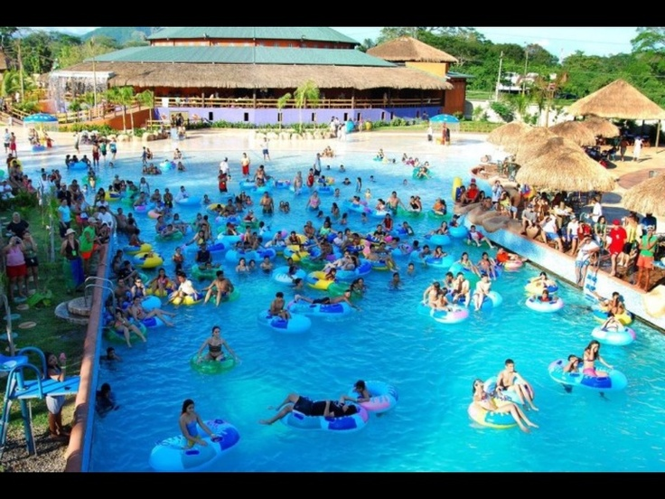 Image Of The Wave Pool In Zizima Water Parks In San Pedro Sula Honduras Water Park Wave Pool San Pedro