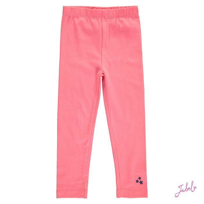 JUBEL kinderkleding | JUBEL - Bottoms AW17 - Jubel legging uni Cheer roze | Webshop samsamkinderkleding.nl