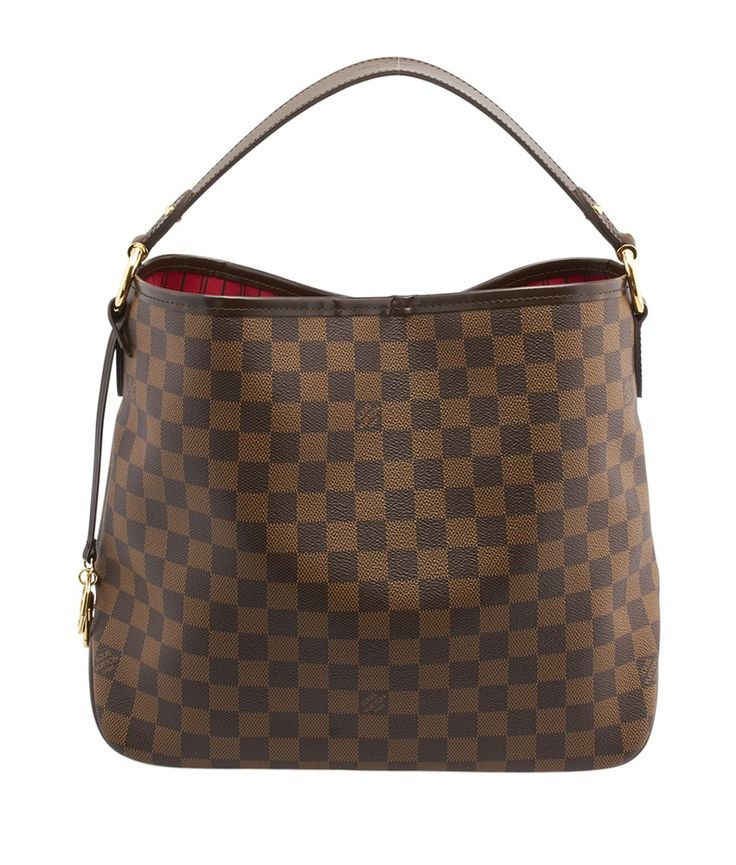 Louis Vuitton Delightful PM Damier Ebene Coated Canvas & Leather Hobo