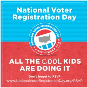 Don't forget to #register to #vote! From the #patriotic staff at Sonnier Chiropractic Clinic  http://ift.tt/U9mcX0