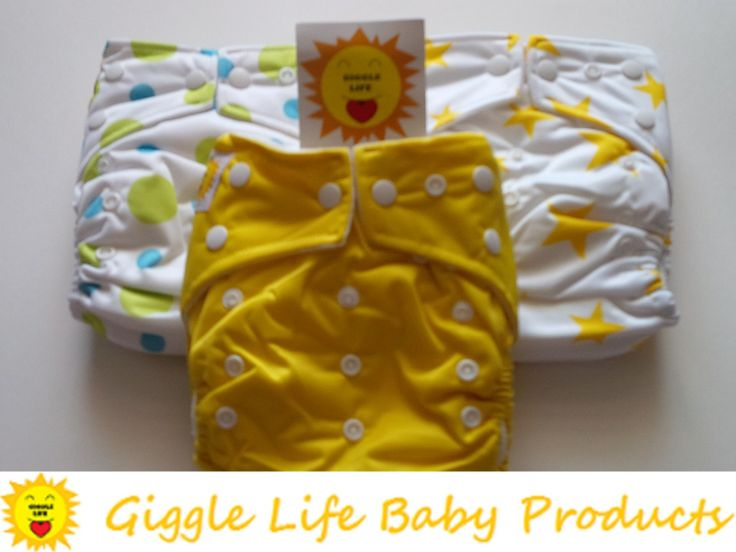 Giggle Life Hipster Cloth Diapers