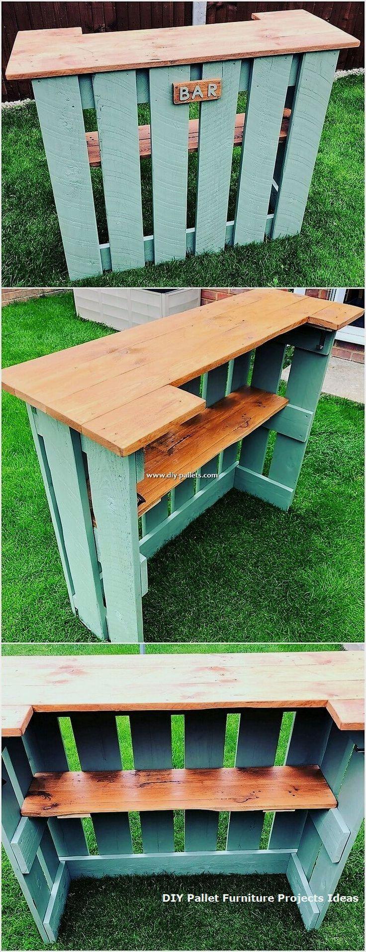 Umwerfende DIY-Projekte für die Wiederverwendung von Holzpaletten