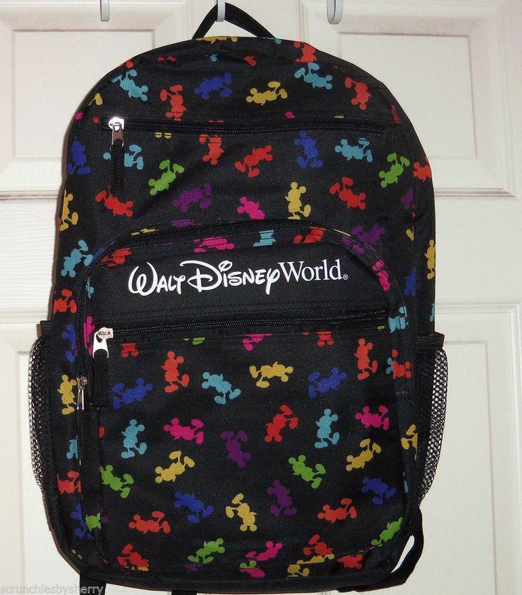 Walt Disney World Mickey Mouse Icon Silhouette Black
