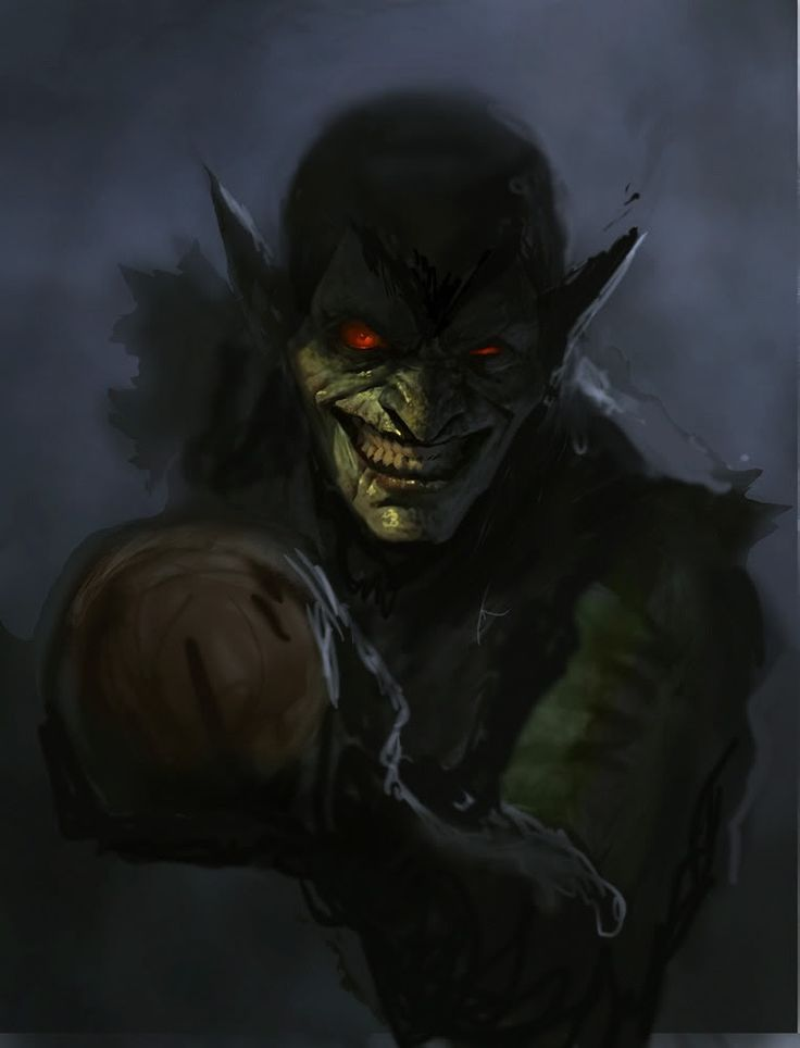The Green Goblin... GREAT Art!