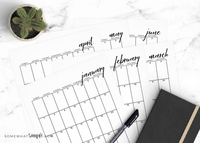 The 25+ best Free printable calendar templates ideas on Pinterest - blank calendar template