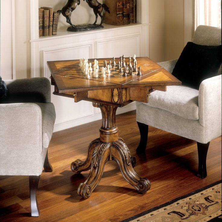 Chess table.