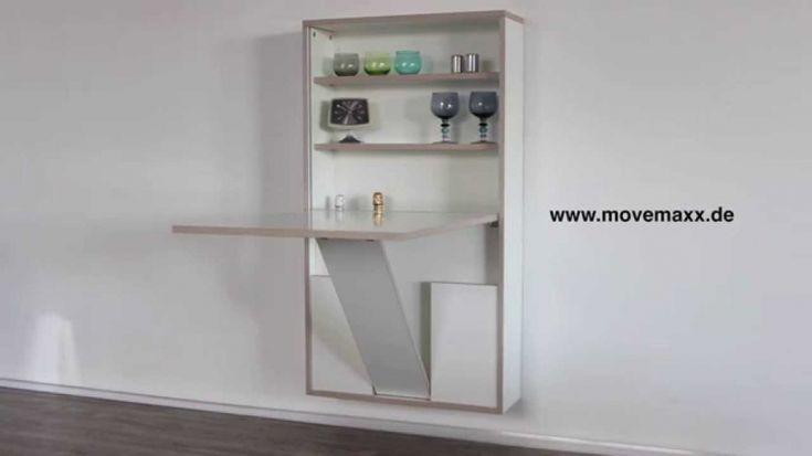 die besten 25 wandklapptisch ideen auf pinterest umklappe tisch klapptisch gestell und h. Black Bedroom Furniture Sets. Home Design Ideas