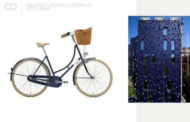Holymoly lady solo deepblue + Hotel Ohla  #bike #creme #cycles #cremecycles #cycling #ride #mybike #freedom #lifestyle #art #life #love #city #cyclingphotos