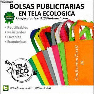 Bolsas Ecologicas Confeccion Textil 18: Elaboramos Bolsas Publicitarias En Tela Pop, Ecoló...