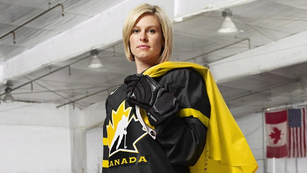 Tessa Bonhomme taking stand against mental illness | Tessa Bonhomme knows what it is like to battle on and off the ice. She's won Olympic gold as a member of Team Canada and took top prize in the Battle of the Blades a few years ago. Now you can add fighting mental illness to the list of things she is taking on.