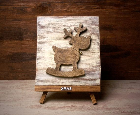 3D-Wooden Christmas Picture  by ForMomentsinTime on Etsy