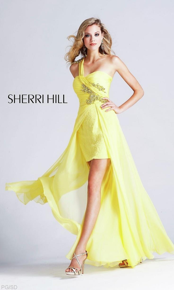 Sherri Hill 4315 Yellow