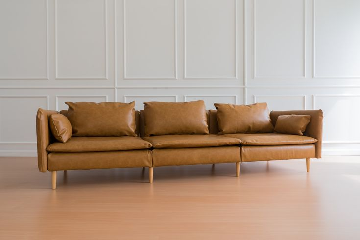 Leather Slipcovers For The Ikea Soderhamn Sectional Sofa