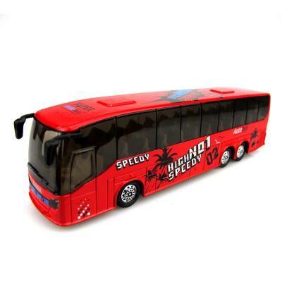 Children's Toy Car Sound Light Tour Bus Model Walkers