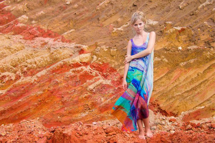 | Long Touch Of Color | #Entreaguas #LimitedEdition #Beachwear