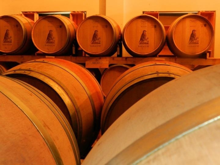 Tuscany with its great wines!