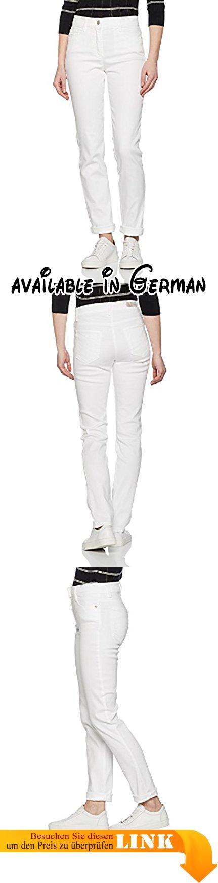 BRAX Damen Skinny Jeans Shakira, White (White 99), W29/L32 (Herstellergröße: 38). Free to move: Five-Pocket-Röhre in einem bequemen Superstretch-Denim. Bewegungsfreiheit wie noch nie: Dieser Super-Stretch-Denim ist hochelastisch und extrem soft. Mit solchen hervorragenden Trageeigenschaften bietet diese Damenhose ein Maximum an Komfort. Nebenbei lässt die Hose Sie noch eine Größe schlanker aussehen. #Apparel #PANTS
