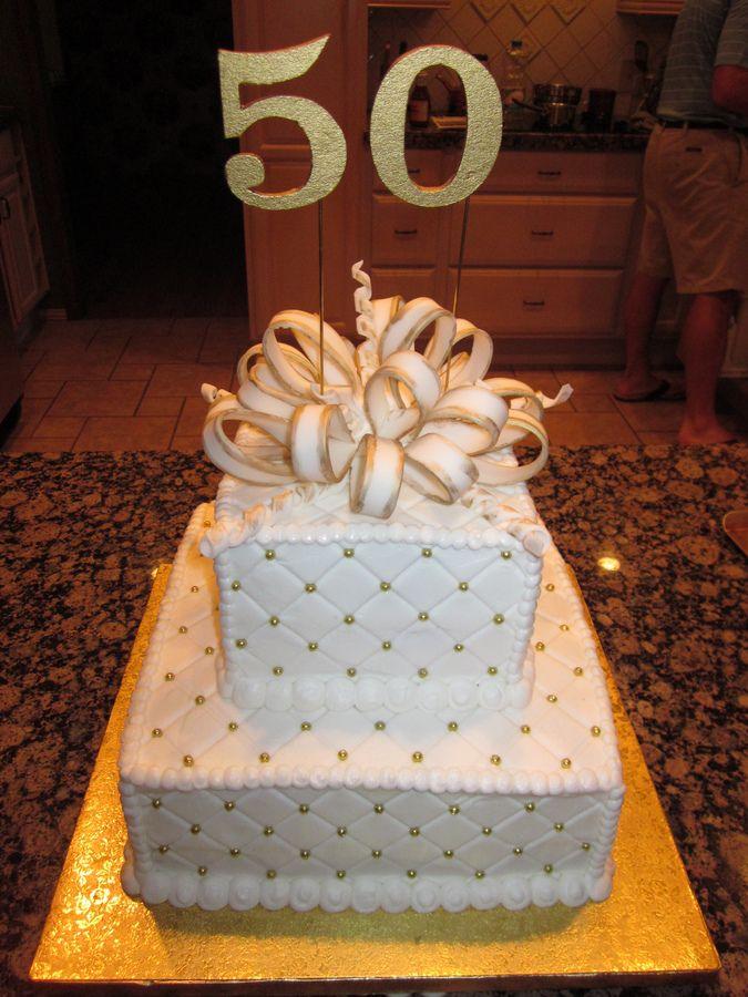 Classy Birthday Cake cakecentral.com