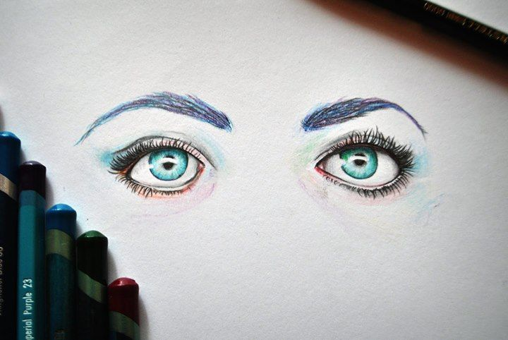 Eye Practicing pencil drawing by Olenka More here: https://www.facebook.com/pages/Olenka/647167888679052