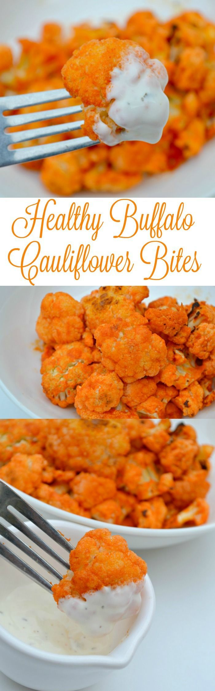 Healthy Buffalo Cauliflower Bites Recipe